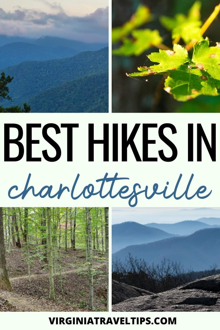 10 Best Trails for Hiking Near and In Charlottesville, Virginia (All Levels) #virginia #hiking #charlottesville #shenandoah | Charlottesville hiking | Hiking in Shenandoah | Things to do in Charlottesville | Virginia hiking | Hikes in Charlottesville | Shenandoah National Park | Places to visit in Virginia | Virginia treks | Virginia trails