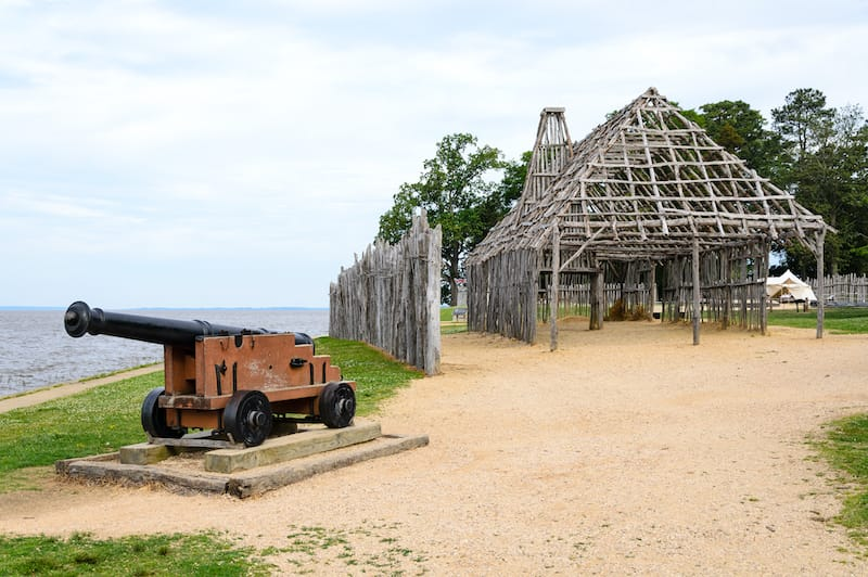 Jamestown Virginia : Virginia national parks