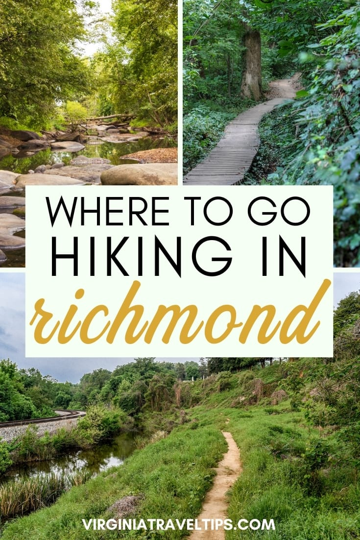 9 Best Places to Go Hiking Near Richmond: A Richmond Trails Guide | This guide details awesome places to hike in Richmond, Virginia. #virginia #richmond #VA | Things to do in Virginia | Virginia travel | Virginia photography | Visit Richmond | Virginia nature | Virginia National Parks | Pocahontas State Park | Virginia is for Lovers | Visit Virginia | Places to visit in VA | James River | Richmond Travel | Richmond nature