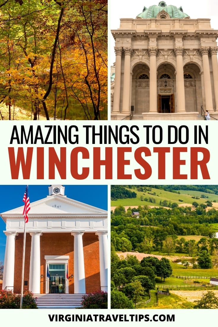 12 Interesting & Diverse Things to Do in Winchester, VA | What to do in Winchester #winchester #virginia #winchesterVA | Visit Winchester | Travel to Winchester | Winchester Virginia | Shenandoah National Park | Day trips from Washington DC | Places to visit in Virginia | Virginia sightseeing | Virginia Cities | Virginia History