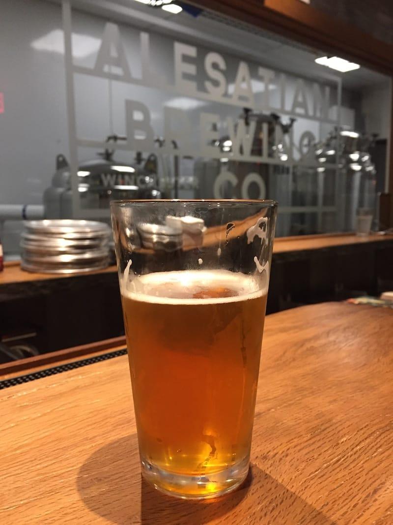 Alesatian Beer in Winchester VA