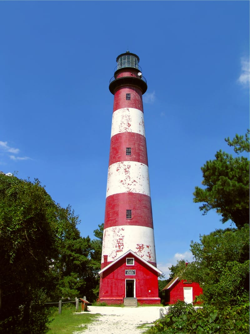 Assateague Lighthouse in VA