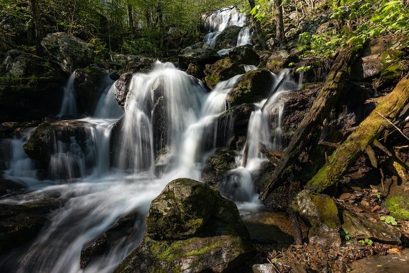 Dark Hollow Falls Virginia waterfall