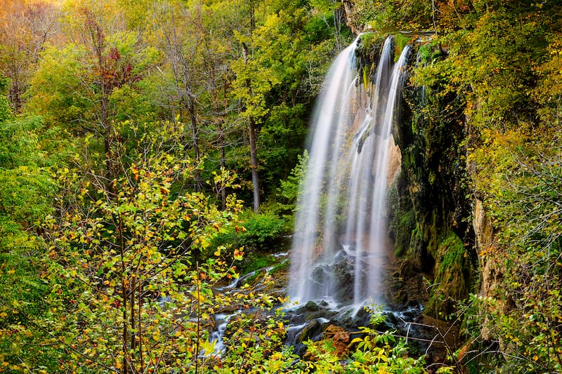 Falling Spring Falls Virginia waterfall hike