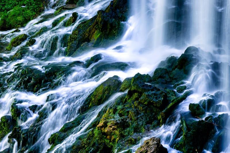 Falling Spring Falls waterfall in virginia