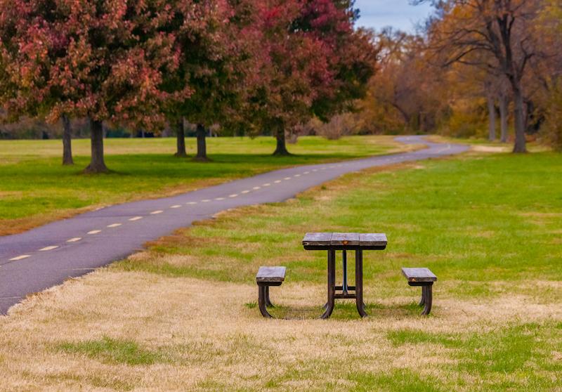 Gravelly Point Park in Arlington