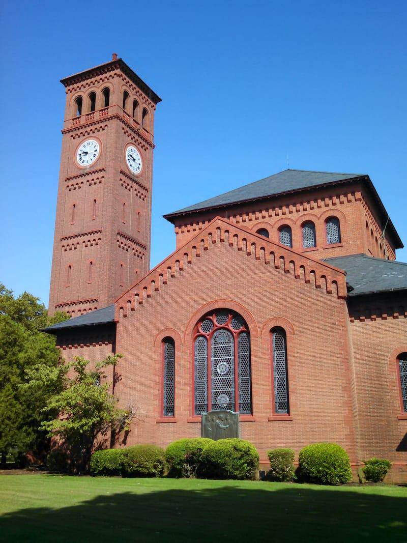 Hampton University Virginia chapel