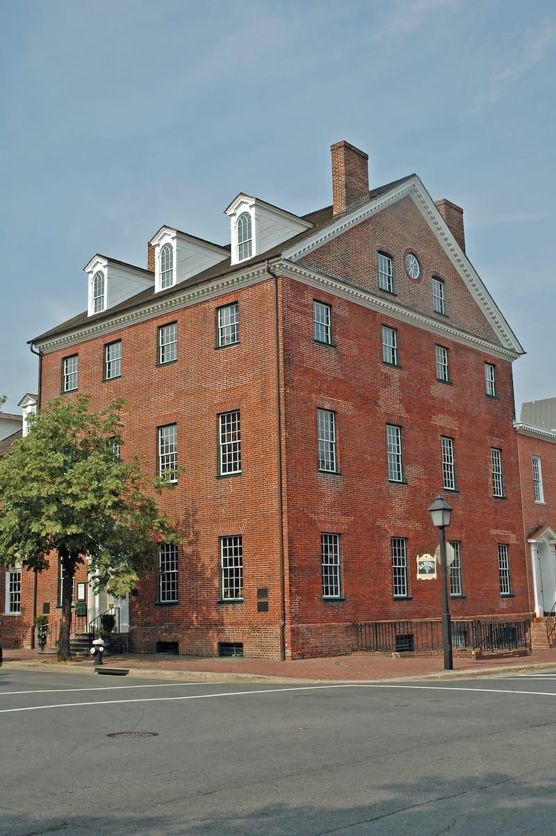 Historic Gadsby's Tavern - Alexandria, Virginia