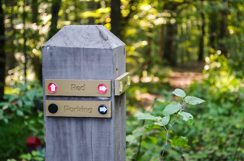 Ivy Creek Park in Charlottesville Virginia hiking