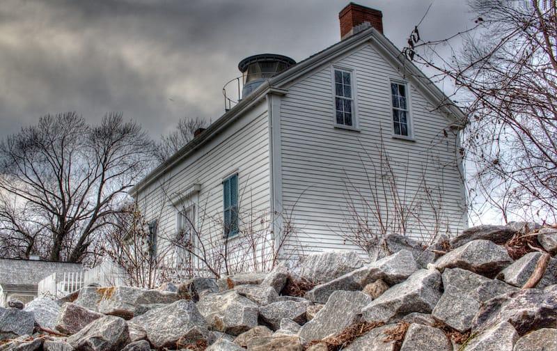 Jones Point Lighthouse on Potomac River in VA
