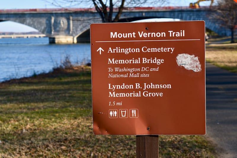 Mount Vernon Trail - Virginia bike trail copy