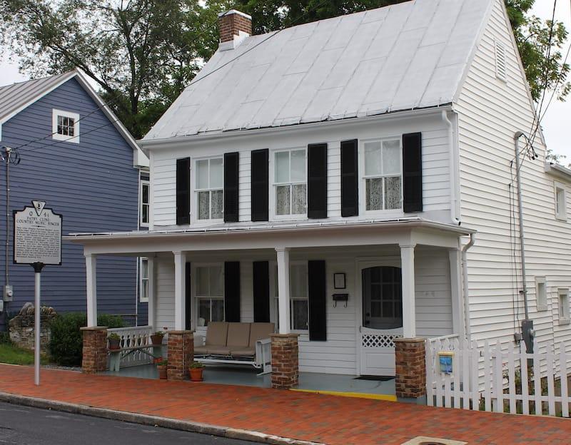Patsy Cline home in Winchester VA