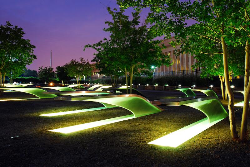 Pentagon 9:11 Memorial in Arlington