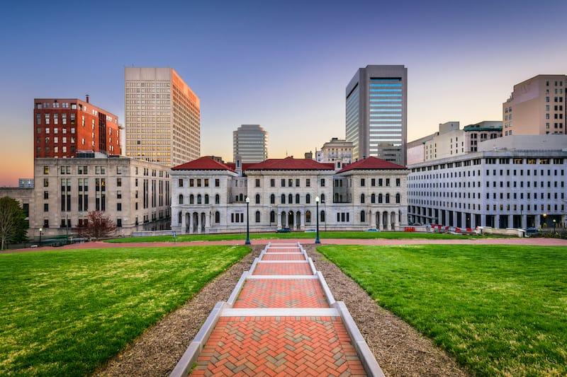 Richmond city scape