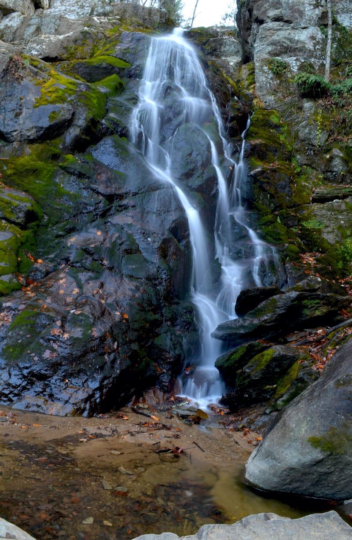 Stiles Falls waterfall in Virginia