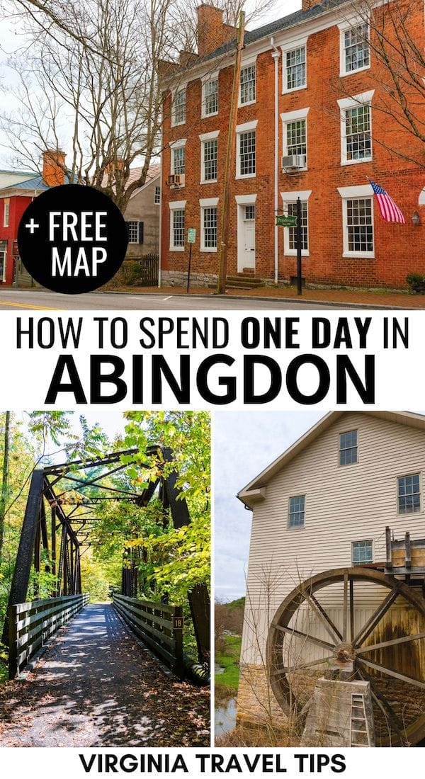 Are you planning a trip to Abingdon, Virginia? This guide of the best things to do in Abingdon will help you plan your itinerary- from history to food and more! | abingdon virginia things to do | abingdon va | southwest VA | barter theatre abingdon | abingdon virginia photography | abingdon virginia photos | abingdon virginia main street | abingdon virginia restaurants | virginia creeper trail