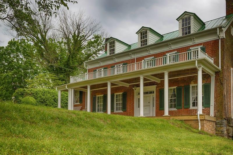 Keller Interpretive Center located on the Mustard grounds a Revolutionary War historical site