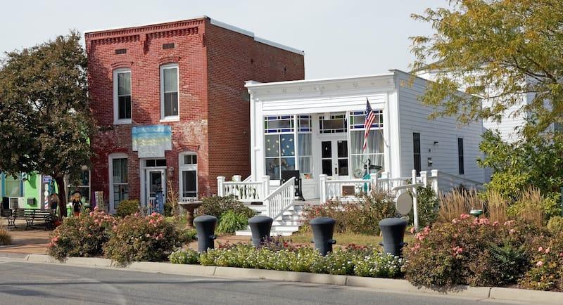 Main Street in Chincoteague VA