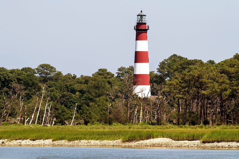 Things to do in Chincoteague - visit Assateague Lighthouse