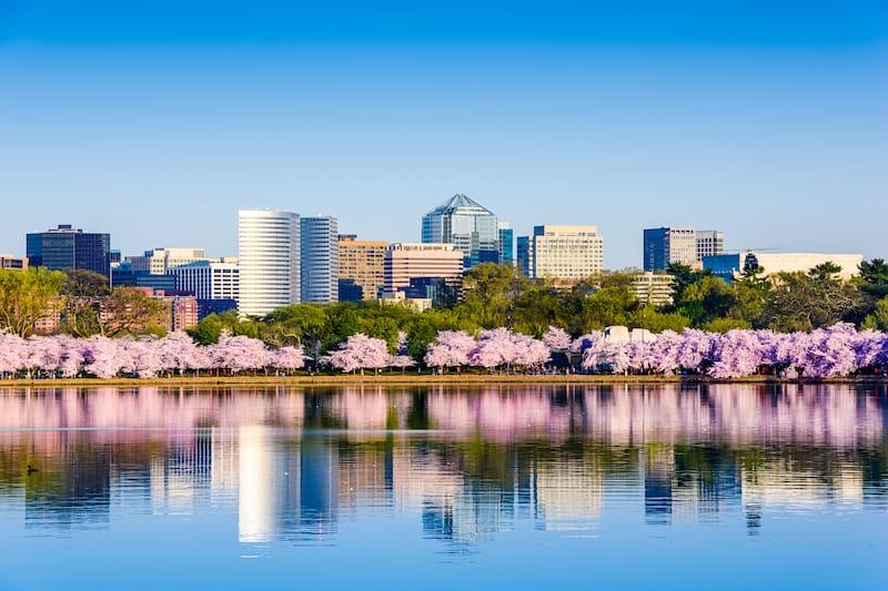Arlington in spring