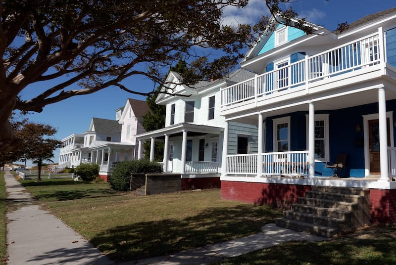 Cape Charles, Virginia summer rentals on the Chesapeake Bay