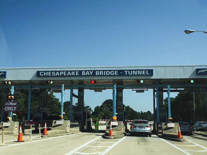 Chesapeake Bay Bridge Tunnel in VA