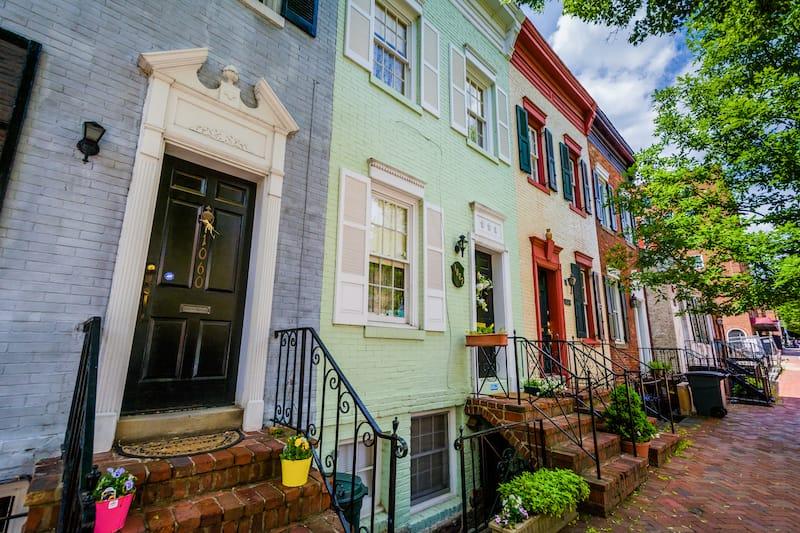 Georgetown in Washington DC