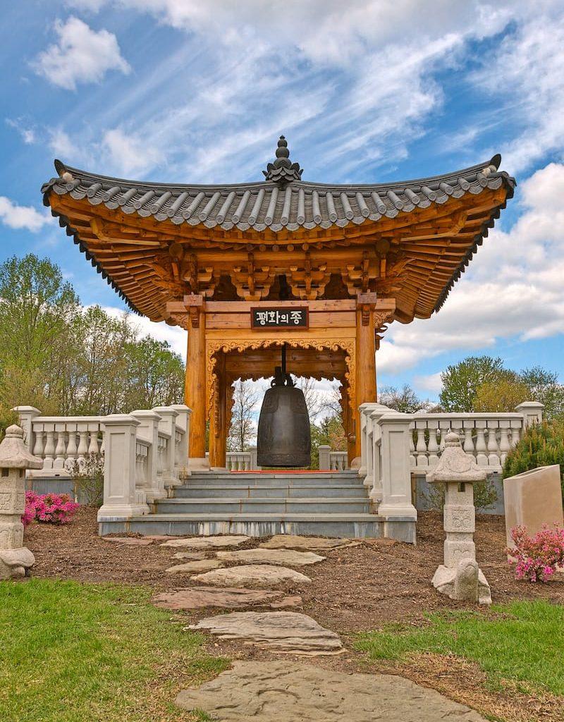 Korean-Bell-Garden-landmark-scenery-from-Meadowlark-Gardens-in-Vienna-Virginia-USA-1