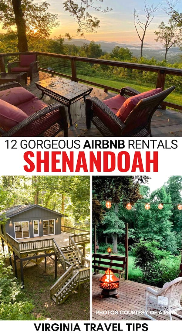 Are you looking for the best Airbnbs near Shenandoah National Park? These beautiful Shenandoah cabins and Airbnbs have you covered! Click for more! | Shenandoah National Park Airbnbs | Shenandoah National Park rentals | Shenandoah National Park cabins | Shenandoah National Park cottages | Front Royal Airbnbs | Virginia Airbnbs | Airbnb rentals Shenandoah National Park | Cabins near Shenandoah National Park | Treehouses Shenandoah National Park | Shenandoah National Park accommodation