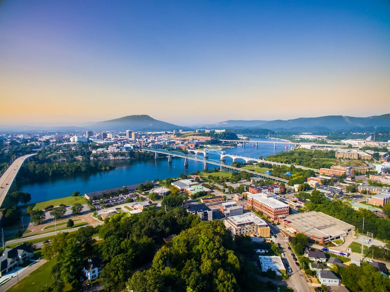 Chattanooga - Weekend trips from Nashville