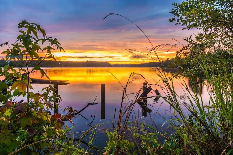 Elvis Presley Lake in Tupelo