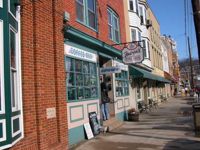 Fairfax Coffee House in Berkeley Springs WV
