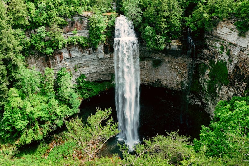 Fall Creek Falls State Park in Tennessee