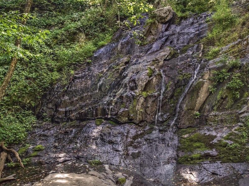Jones Run Falls in Shenandoah National Park