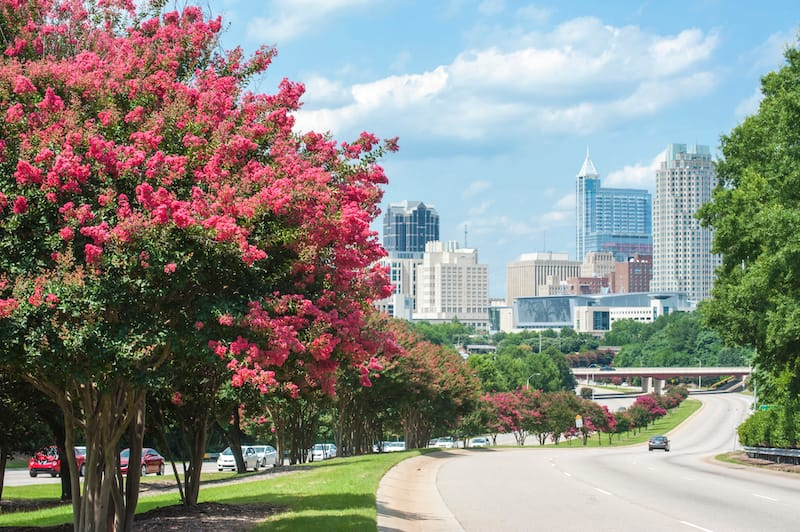 Raleigh, North Carolina - best weekend trips from Charlotte