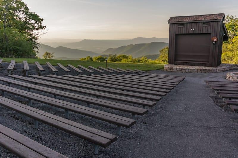 Ridgeview Park Amphitheater // Editorial credit: Kelly vanDellen / Shutterstock.com