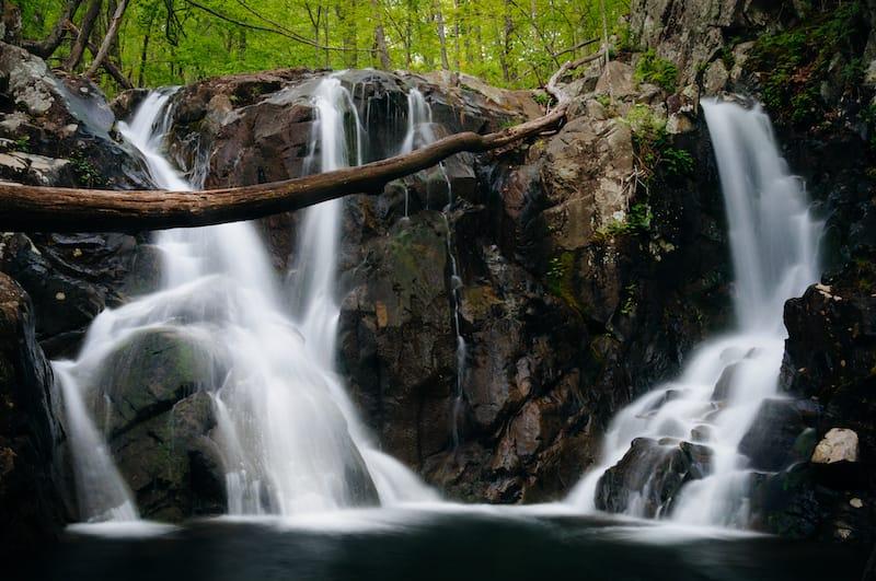 Rose River Falls - waterfalls in Shenandoah National Park