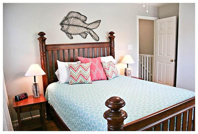 queen bedroom cape charles