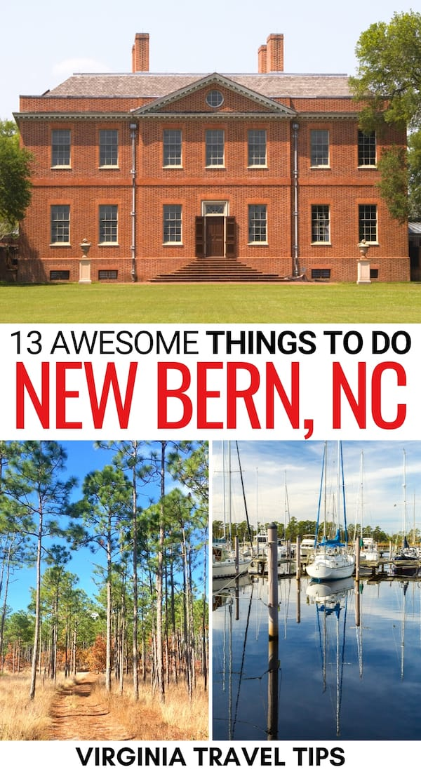 Do you have a trip to Eastern North Carolina coming up and are looking for the best things to do in New Bern NC? This guide tells all! Click to learn more! | New Bern things to do | New Bern attractions | New Bern landmarks | New Bern travel guide | Visit New Bern NC | New Bern restaurants | New Bern beer | New Bern museums | What to do in New Bern | Places to visit in North Carolina | New Bern parks | New Bern hiking | New Bern trails | New Bern history | New Bern Pepsi Cola
