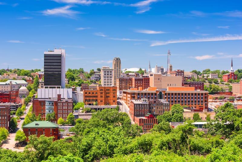 10 Nearby - the city of Lynchburg VA