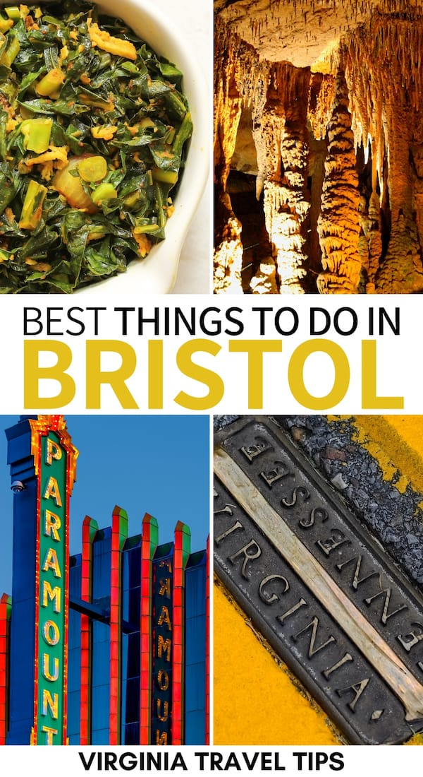 Are you heading to Southwest Virginia and are looking for the best things to do in Bristol TN and VA? This Bristol travel guide has you covered - click for more! | Bristol things to do | Bristol Tennessee | Bristol Virginia | Visit Bristol | What to do in Bristol TN | Birthplace of Country Music Museum | Bristol TN attractions | Bristol VA attractions | Bristol landmarks | Bristol Motor Speedway | Bristol VA restaurants | Bristol TN restaurants | Bristol VA & TN