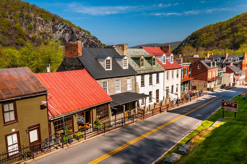 Best Places to Visit in West Virginia - Harpers Ferry