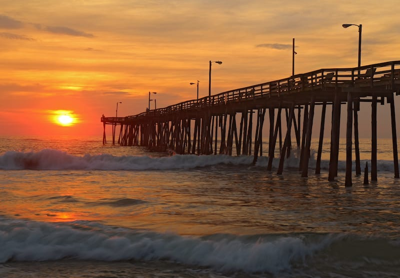 Best towns in the Outer Banks - Nags Head