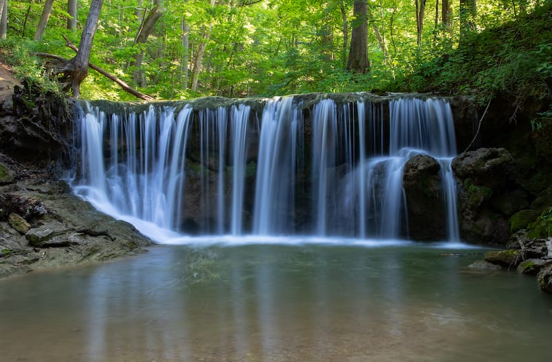 Folly Mills Falls in Staunton VA