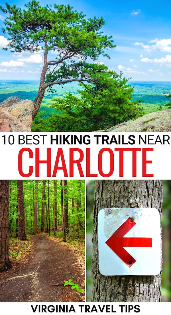 Are you looking for an escape from the city and want to know the best hikes near Charlotte NC (for all levels)? This guide has you covered - including a map! | Charlotte hiking | Charlotte trails | Charlotte hiking trails | Charlotte day hikes | Charlotte easy hikes | Charlotte hikes | Best hikes near Charlotte North Carolina | Hiking in Charlotte | Hikes in Charlotte | Trails in Charlotte | Trails near Charlotte | Things to do in Charlotte | North Carolina hiking