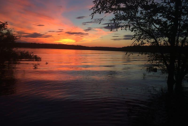 Kerr Lake State Recreation Area in North Carolina