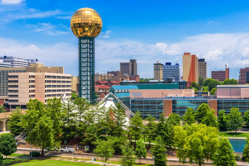 Knoxville - best places to visit in Tennessee