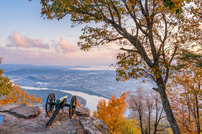 Lookout Mountain in Chattanooga