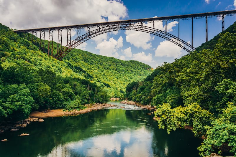 New River Gorge National Park in West Virginia