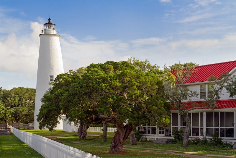 Ocracoke Lighthouse and Keeper's Dwelling